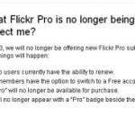 Flickr Proアカウントは継続利用可能
