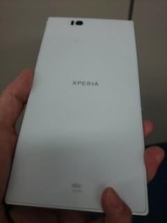 Xperia Z Ultra モニター終了
