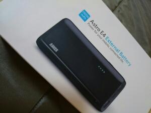 Anker Astro E4購入