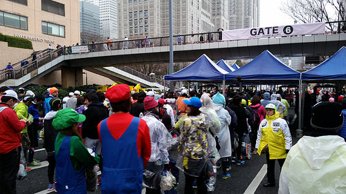 Galaxy S5 Activeと東京マラソン2015