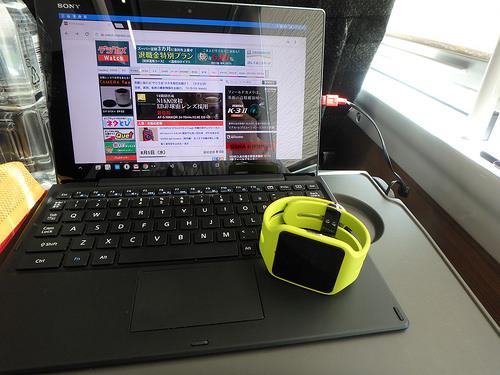 Xperia Z4 TabletとSmartWatch SW3の初期感想