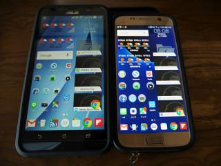 Galaxy S7かZenfone2か