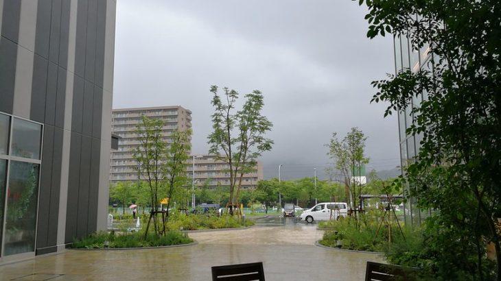 7月4日 台風?
