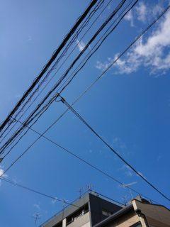 9月18日 台風一過
