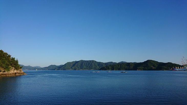 見近島キャンプ 帰り (2018/05/20)