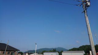 6月9日 梅雨の晴れ間