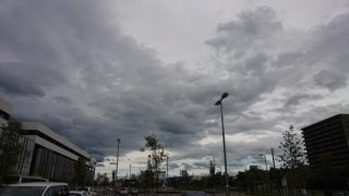 7月29日 台風直撃寸前