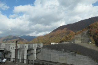 NC700Sで徳山ダムへ(18/11/10)