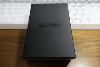 小さな財布(SECRID)へ買い替え