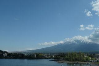 スーパーカブ110で、富士山を見に(19/05/05,06)