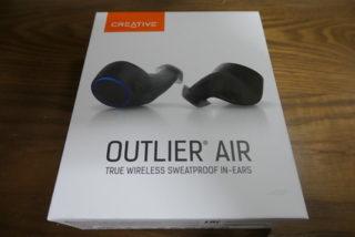 完全ワイヤレスイヤホン Creative Outlier Airを購入