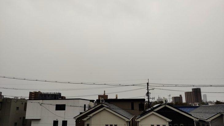 10月12日 台風の日