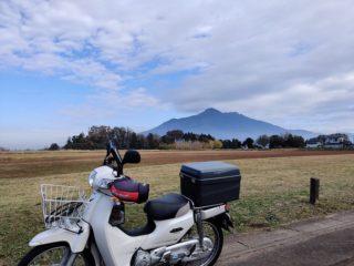 スーパーカブ110で筑波山方面に行ってみた