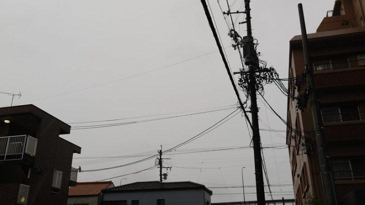 10月10日 台風?